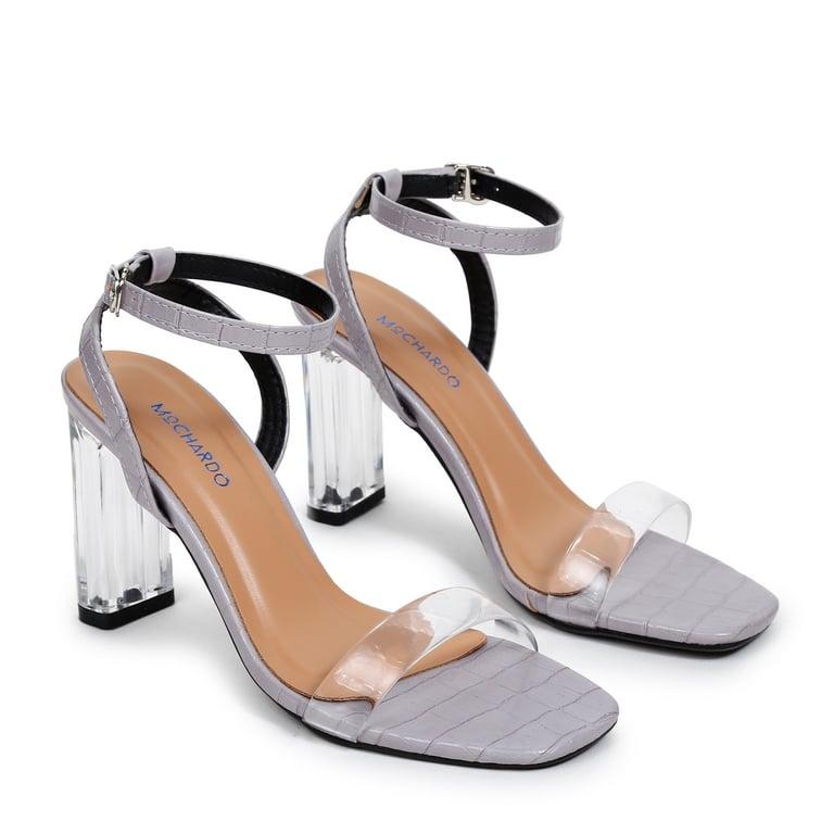 Sandal CG Quai Ngang Trong EL.3 Tím
