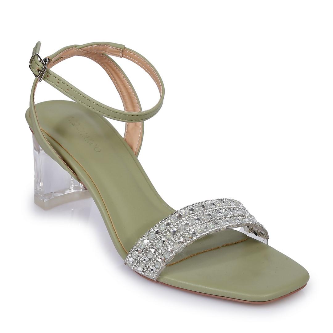Sandal CG Nữ EL.20 Xanh