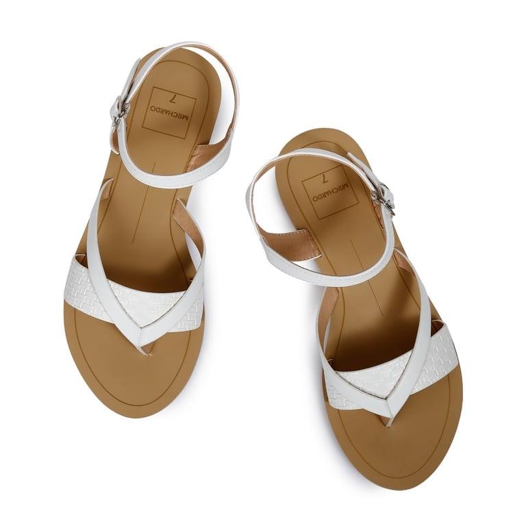 Sandal DT Nữ P.10 Trắng