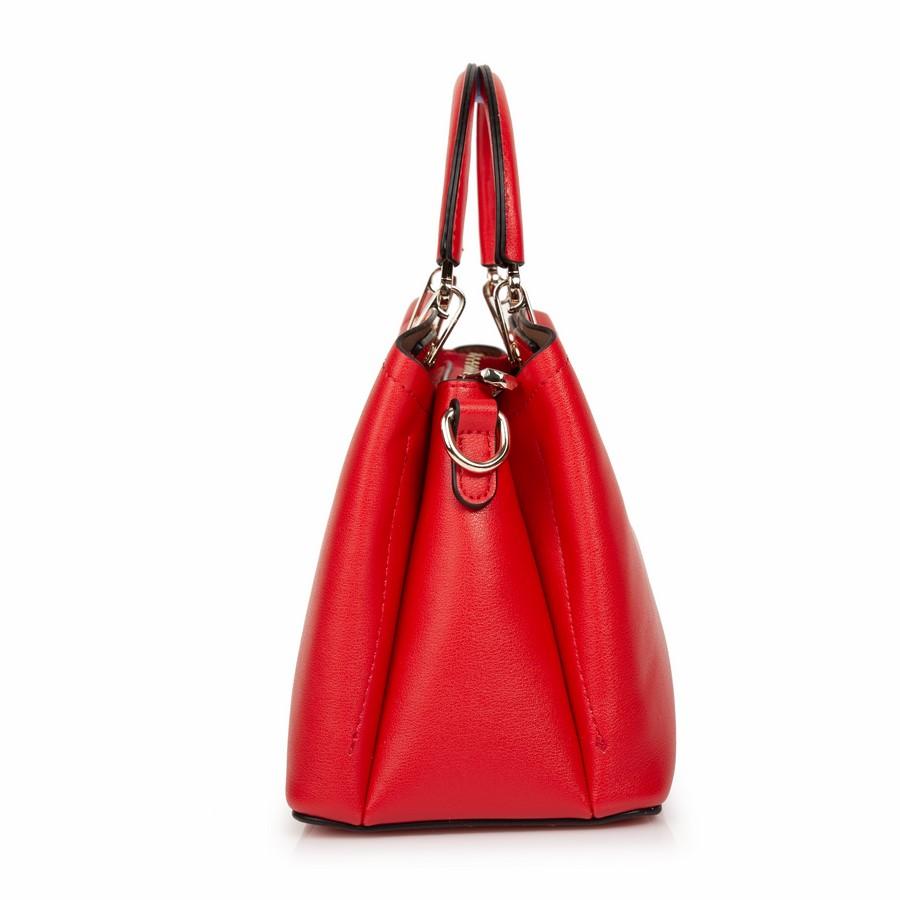 Túi xách tay da mềm KQ-21 Đỏ