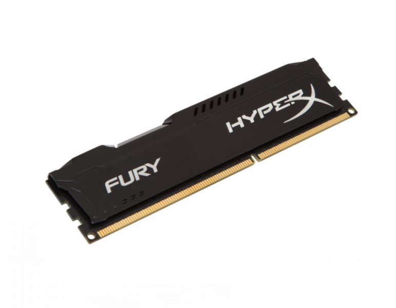 RAM Kingston HyperX Fury Black 8GB DDR3 Bus 1600 CL10