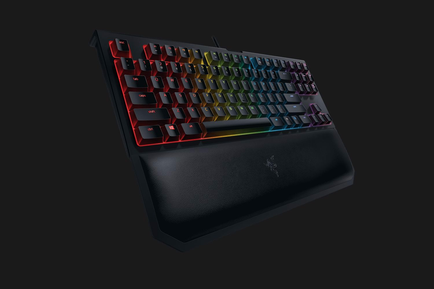 Bàn Phím Cơ Razer BlackWidow Tournament Edition Chroma V2 ORANGE SWITCH