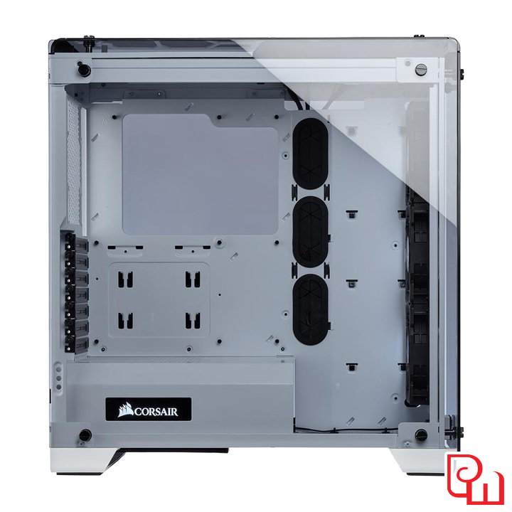 Case Corsair Crystal Series 570X White RGB Tempered Glass