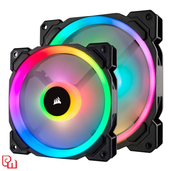 Quạt Case Corsair LL120 RGB 3 Fan + Lighting Node PRO
