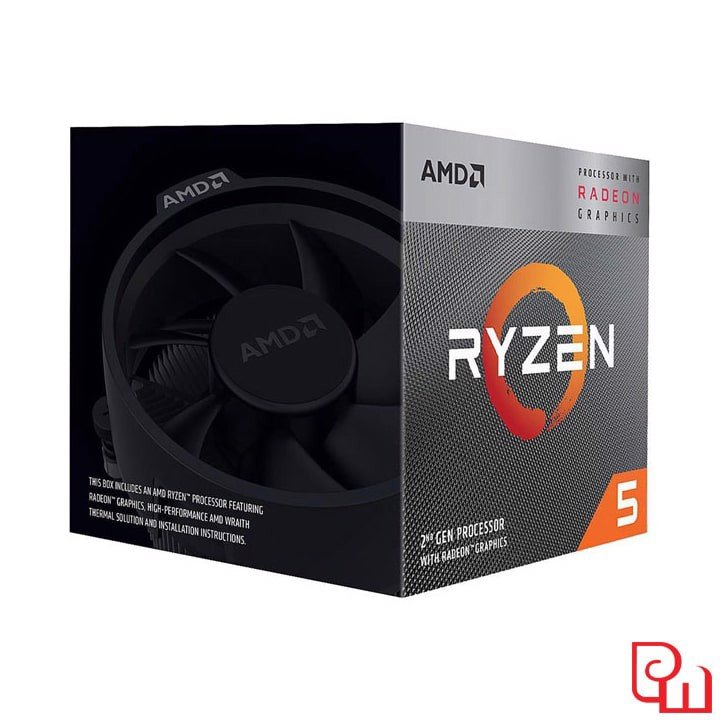 CPU AMD Ryzen 5 3400G (4C/8T, 3.7 GHz - 4.2 GHz, 4MB) - AM4