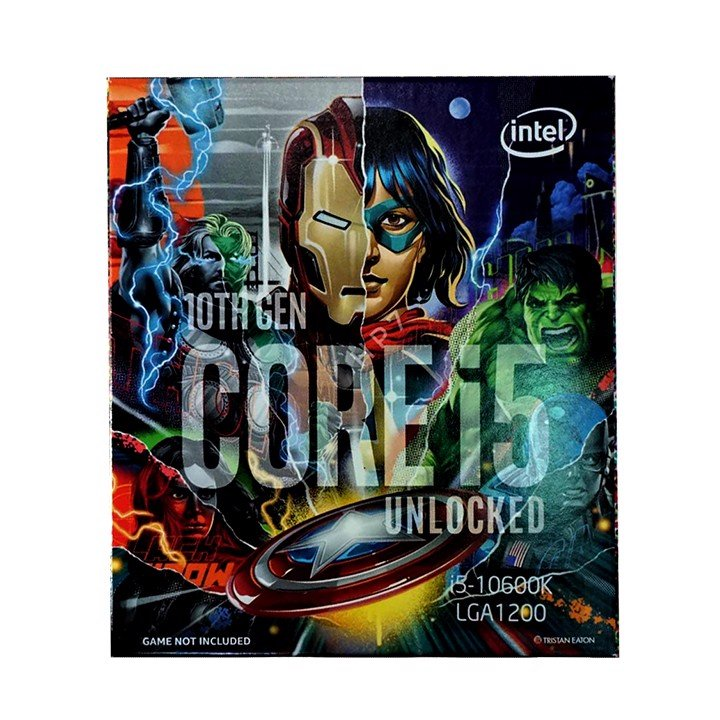 CPU Intel Core i5-10600KA Avenger Edition (4.1GHz up to 4.8GHz, 12MB) - LGA 1200