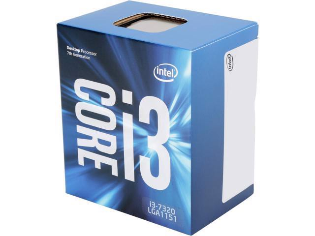CPU Intel Kaby lake Core i3 7320 (4.1Ghz)