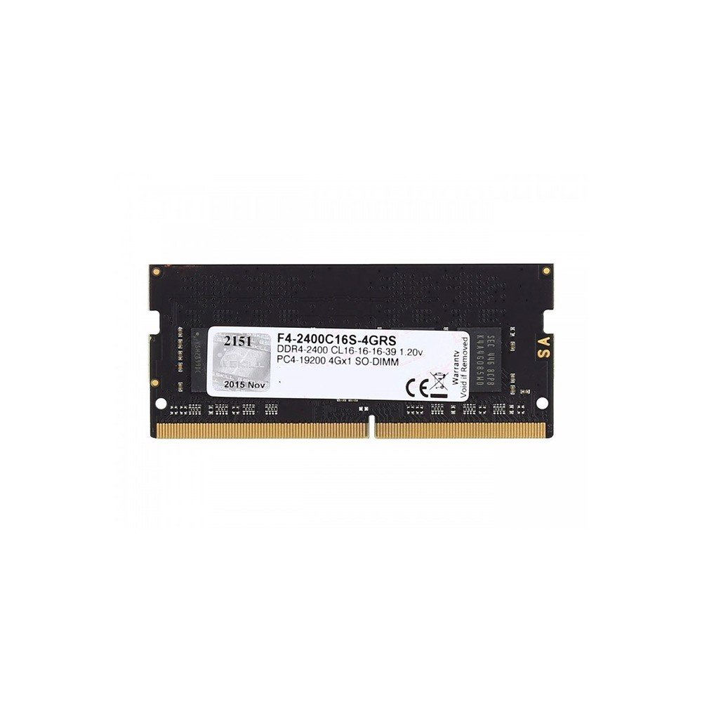 Ram Laptop GSKILL 4GB DDR4 Bus 2400 F4-2400C16S-4GRS