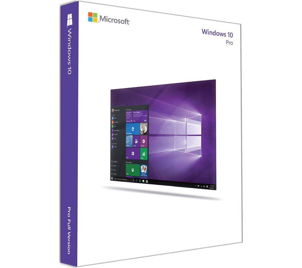 Windows 10 Pro 64bit English 1pk DSP OEI DVD