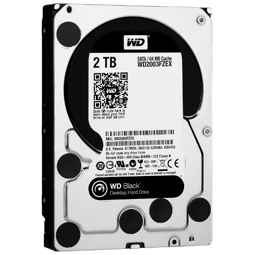 Ổ Cứng HDD WD Black 2TB WD2003FZEX