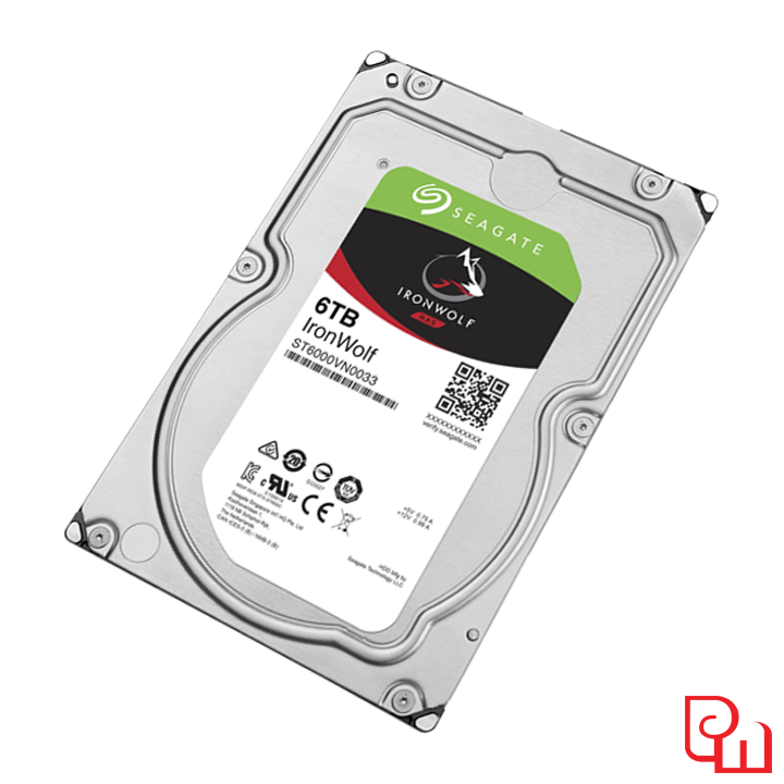 Ổ cứng HDD NAS Seagate Ironwolf 6TB 3.5