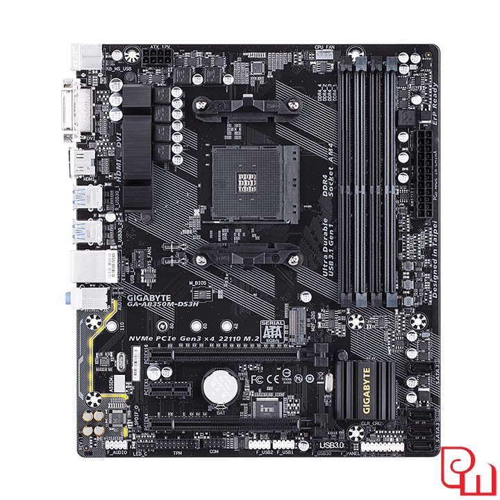 Mainboard Gigabyte AB350M-DS3H (AMD)