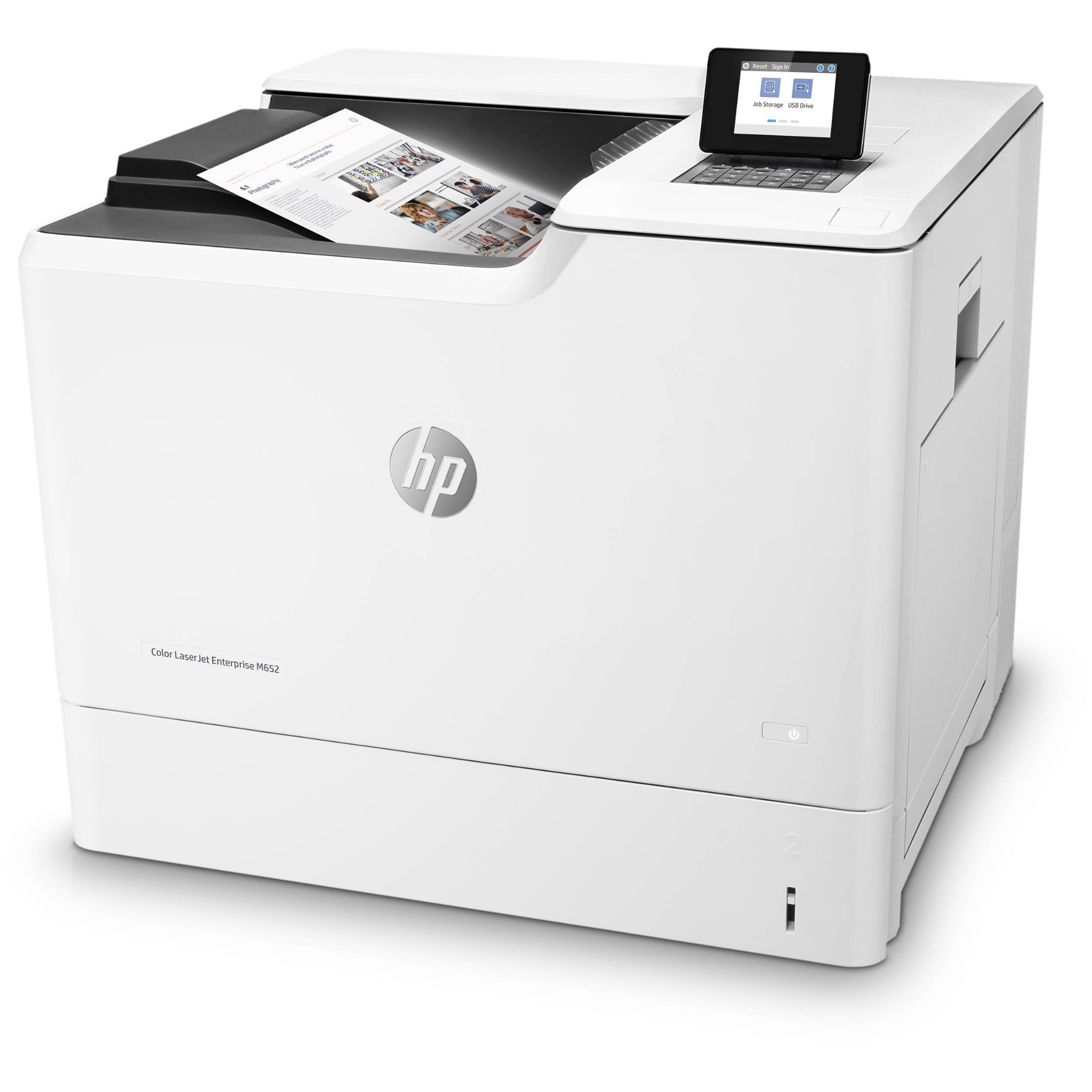 Máy in HP LaserJet Ent Color M652DN