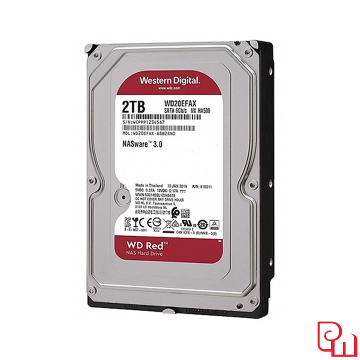 Ổ Cứng HDD WD Red 2TB WD20EFAX