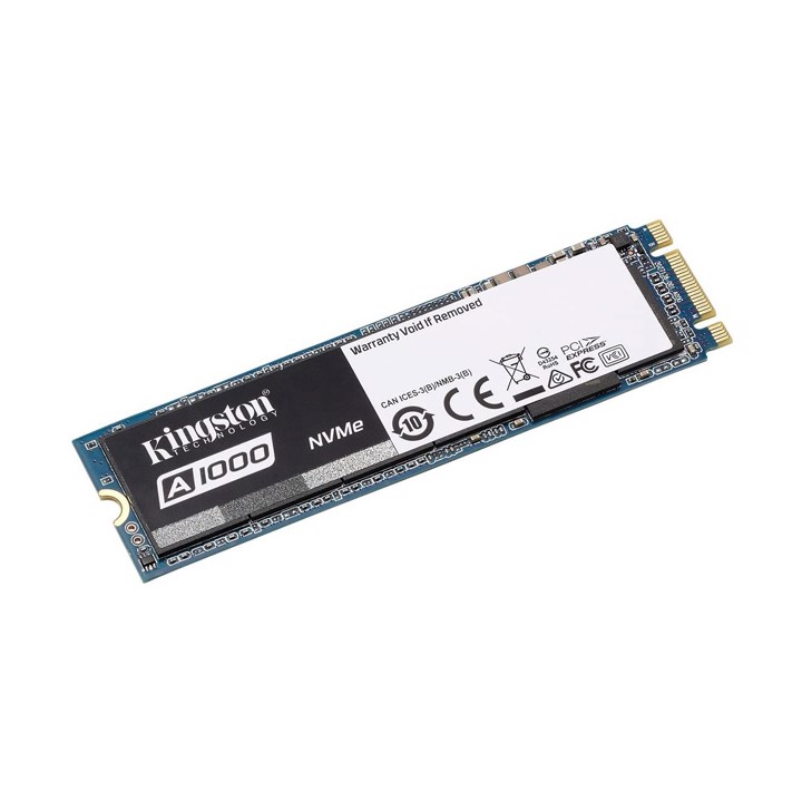 Ổ cứng SSD Kingston A1000 480GB M.2 2280 NVMe PCIe (SA1000M8/480G)