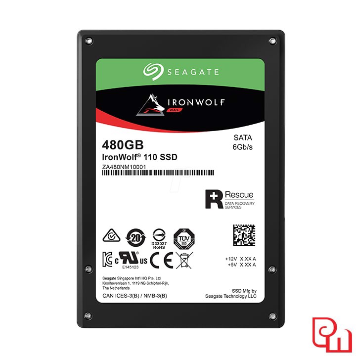 "Ổ cứng SSD Seagate Ironwolf 110 480GB 2.5"" SATA (ZA480NM10011)"