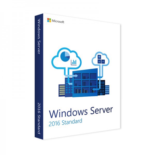 Windows Server 2016 Standard + 5 CAL (FPP)