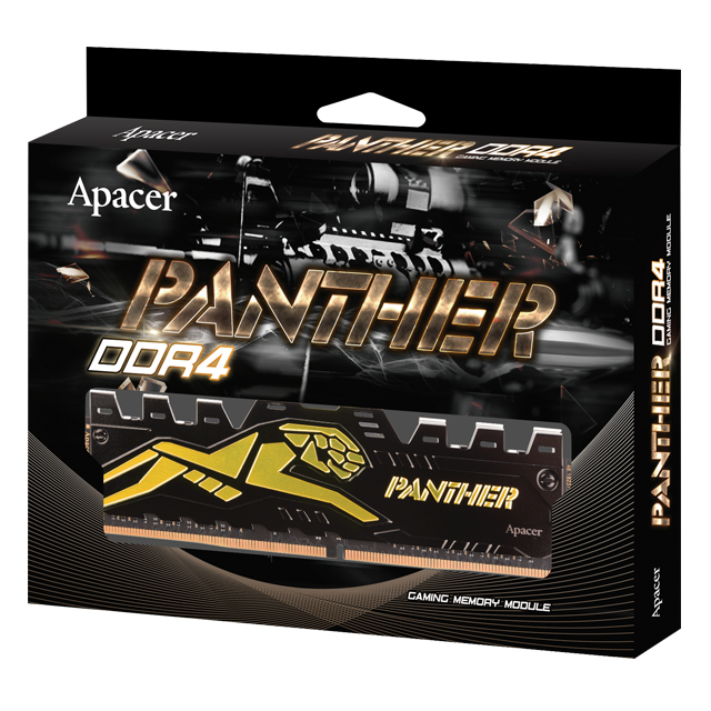 Ram Apacer Panther Golden 8GB DDR4 Bus 2400
