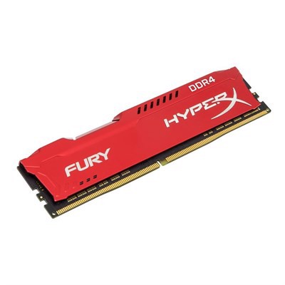 Ram Kingston HyperX Fury Red 8GB DDR4 Bus 2666 HX426C16FR2/8