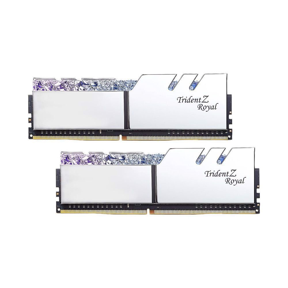 RAM GSKILL TridentZ Royal RGB 16GB (2x8GB) DDR4 Bus 3000 F4-3000C16D-16GTRS