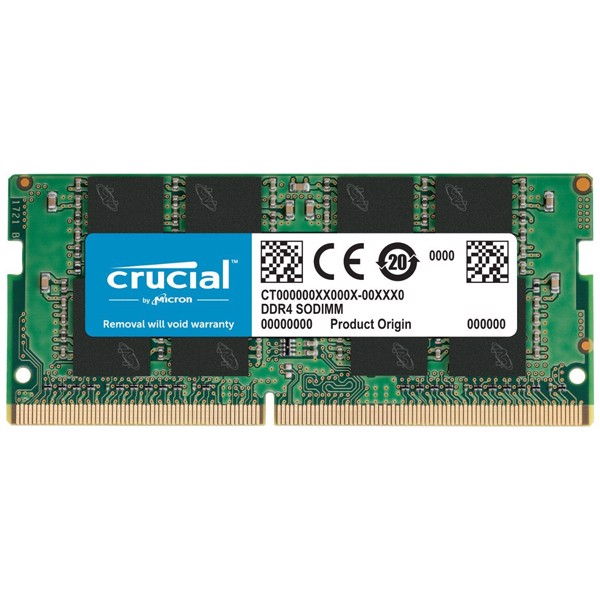 RAM Laptop Crucial 16GB DDR4 Bus 2400 CT16G4SFD824A