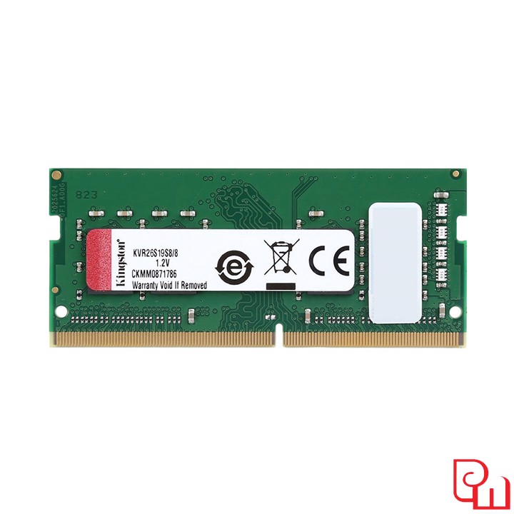 Ram Laptop Kingston 8GB DDR4 2666MHz KVR26S19S8/8