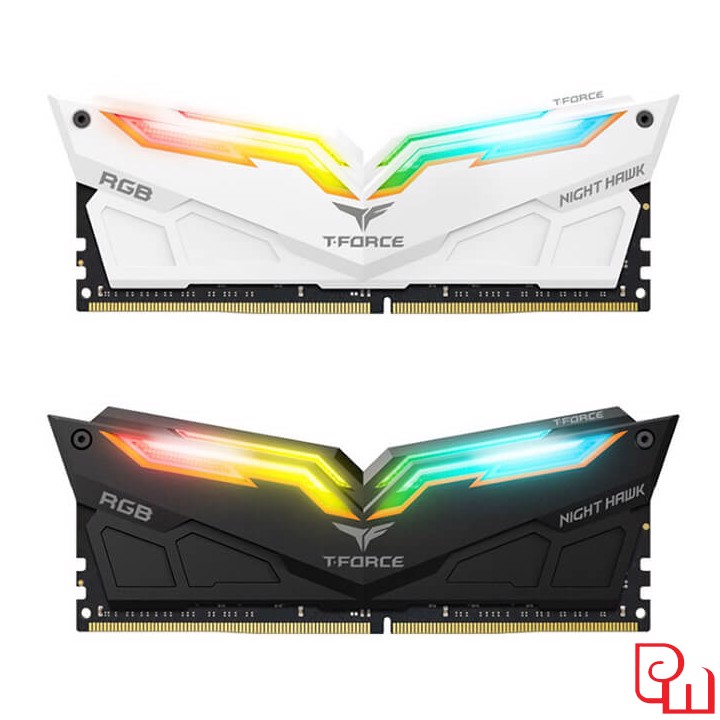 Ram Team Night Hawk RGB 16GB (8GB x 2) DDR4 3000MHz ( For Led )