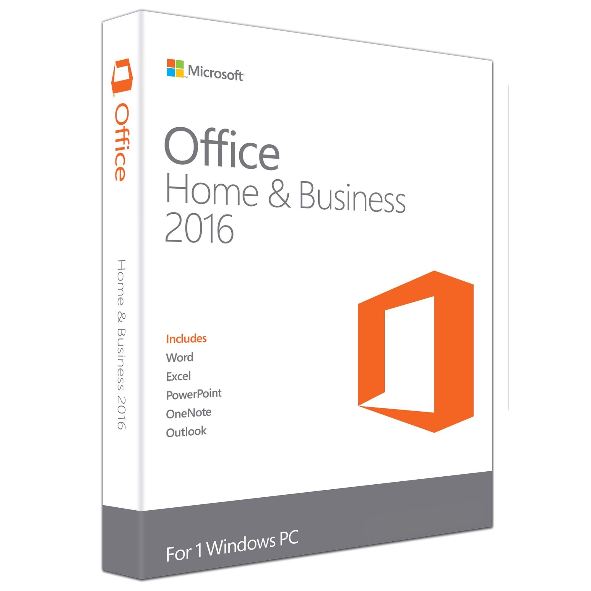 Office Home and Business 2016 32B/64 APAC EM DVD