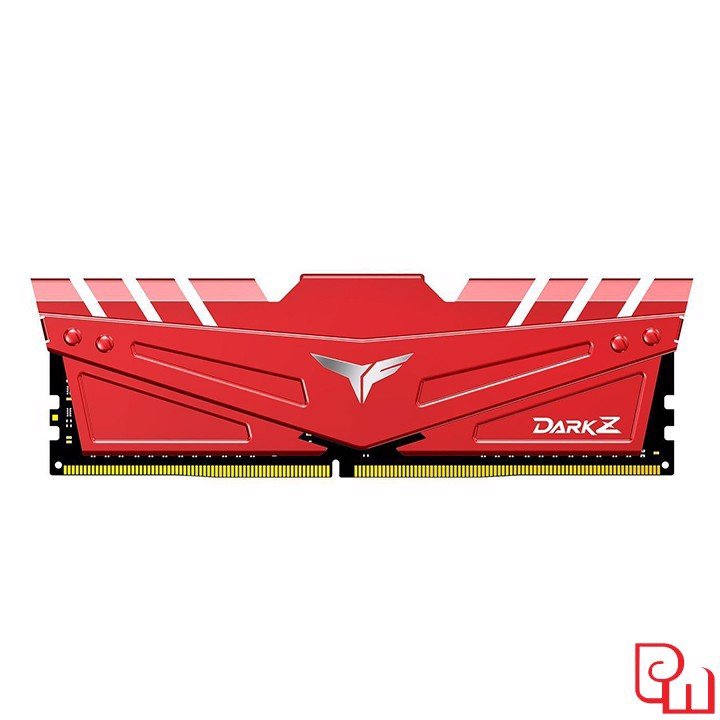 Ram Team T-Force Dark Z 16GB DDR4 3200MHz Red TDZRD416G3200HC16C01