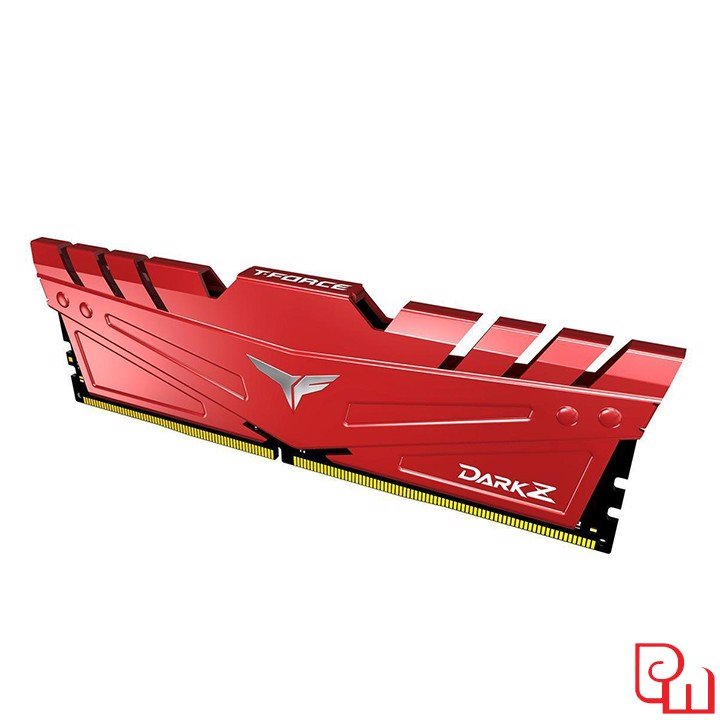 Ram Team T-Force Dark Z 8GB DDR4 3200MHz Red TDZRD48G3200HC16C01
