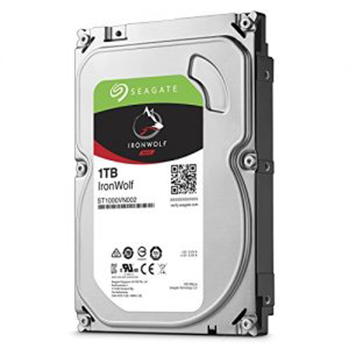 "Ổ cứng HDD NAS Seagate Ironwolf 1TB 3.5"" Sata (ST1000VN002)"
