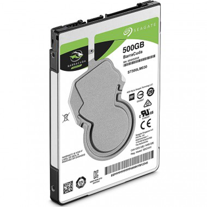 "Ổ cứng Notebook Seagate Barracuda 500GB 2.5"" Sata (ST500LM030)"
