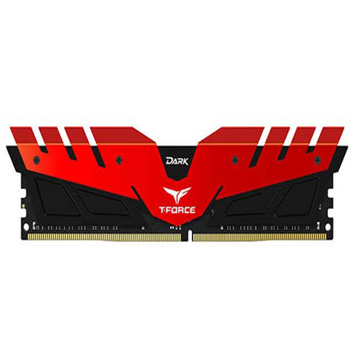 RAM Team Dark 8GB Bus 2400 DDR4 Red (TDRED48G2400HC1401)