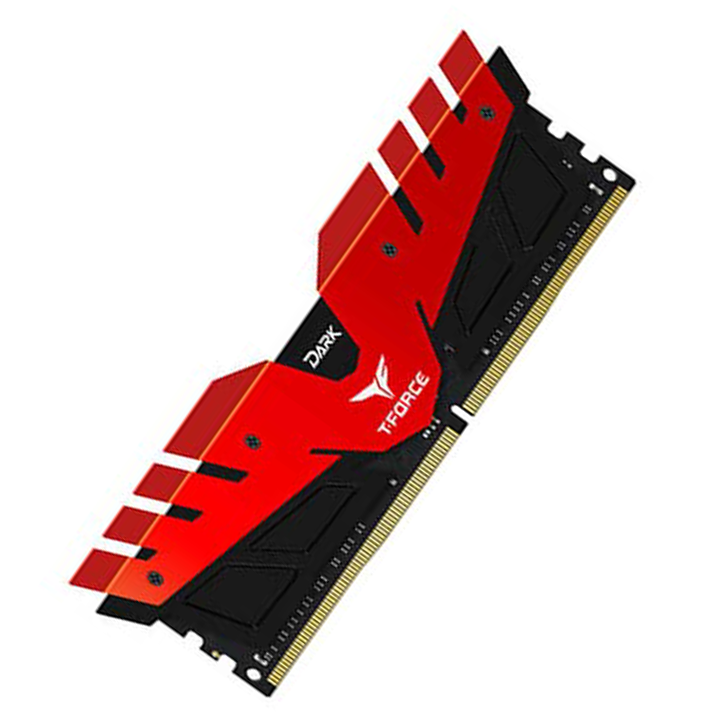 RAM Team Dark 8GB Bus 2666 DDR4 Red (TDRED48G2666HC15B01)