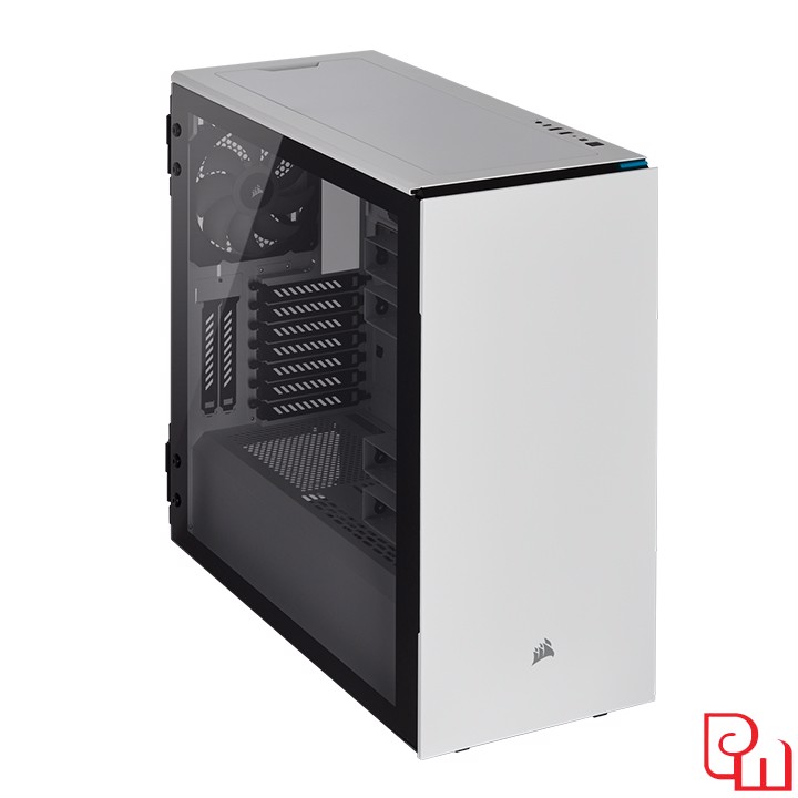 Vỏ Case Corsair Carbide Series 678C RGB Tempered Glass White (CC-9011170-WW)