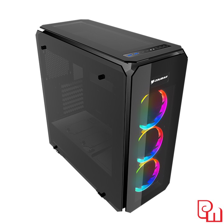 Vỏ Case Cougar Puritas RGB - Tempered Glass Cover RGB Mid-Tower