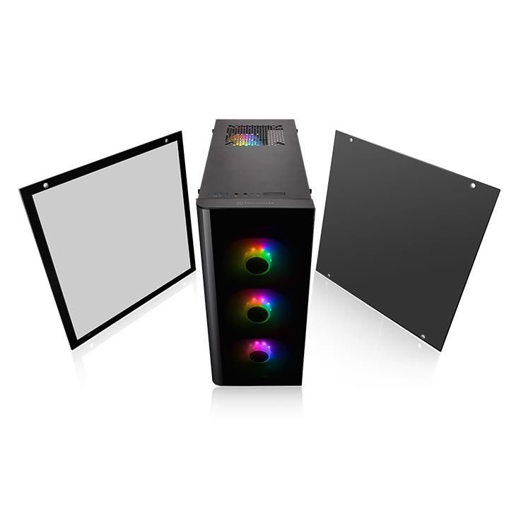 Vỏ Case Thermaltake View 21 Tempered Glass RGB Plus Edition (CA-1I3-00M1WN-05)