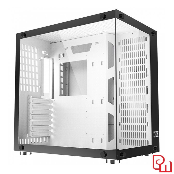 Vỏ Case Xigmatek AQUARIUS PLUS WHITE EN43668 - NO FAN