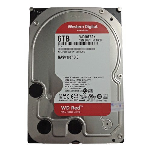 Ổ Cứng HDD WD Red 6TB WD60EFAX