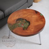 BÀN SOFA EPOXY CÁ VẼ 3D  SOFA EPOXY TABLE