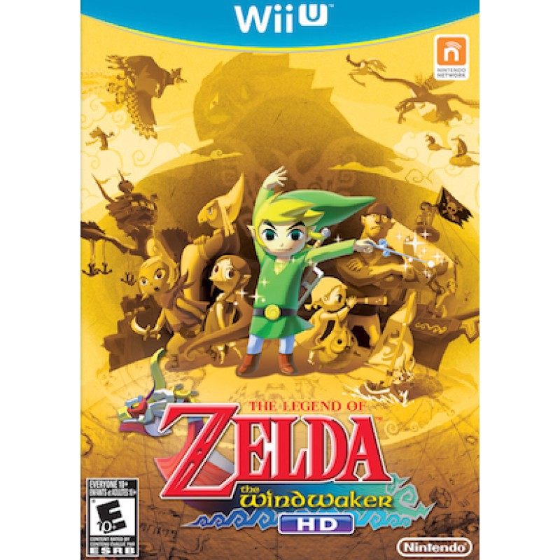 U012 - THE LEGEND OF ZELDA: WIND WAKER HD