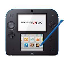 NINTENDO 2DS - BLUE HACKED [SECOND-HAND]