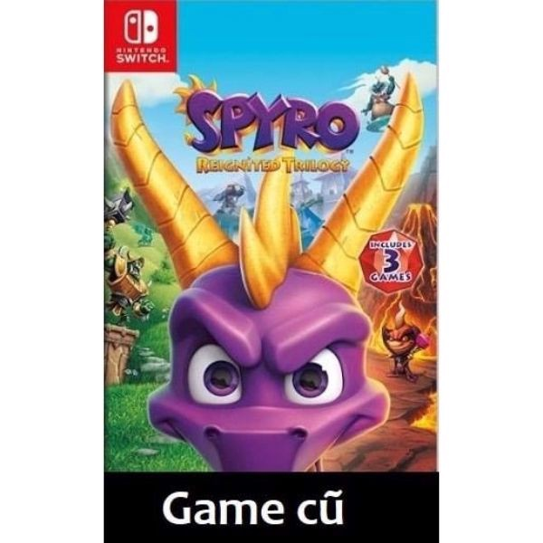 Spyro Reignited Trilogy cho Nintendo Switch [Second-hand]
