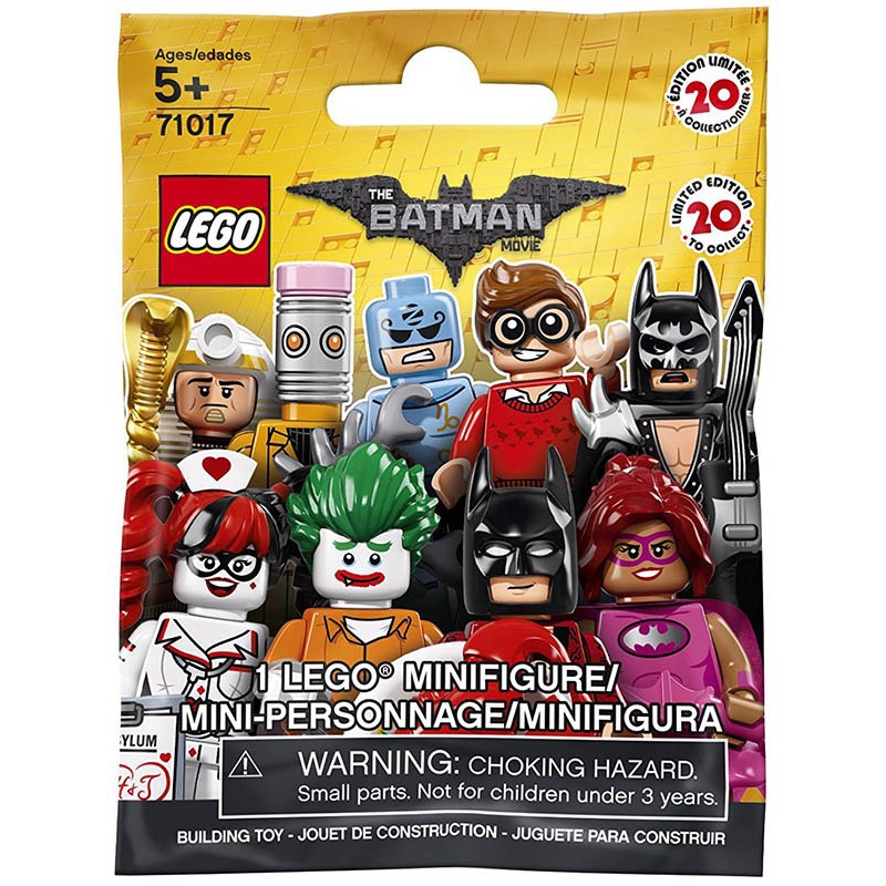 LEGO MINIFIGURE - THE LEGO BATMAN MOVIE SERIES