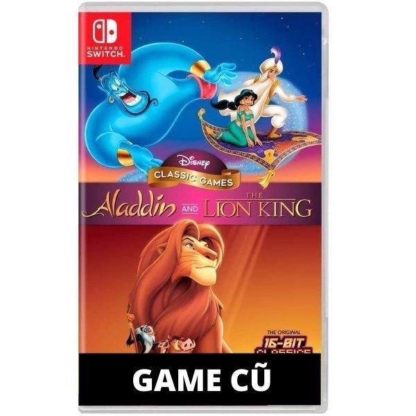 Disney Classic Games: Aladdin and The Lion King cho Nintendo Switch [Second-hand]