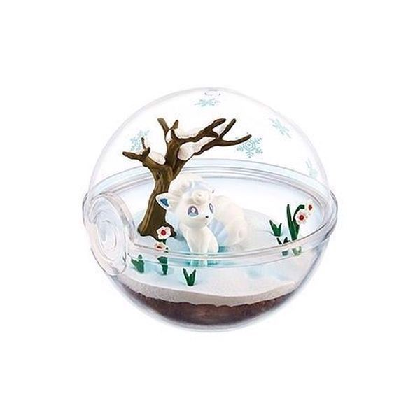 Pokemon Terrarium Collection EX Alola 2 - Alola Vulpix (Rokon)