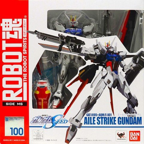Aile Strike Gundam (Robot Spirits - Side MS)