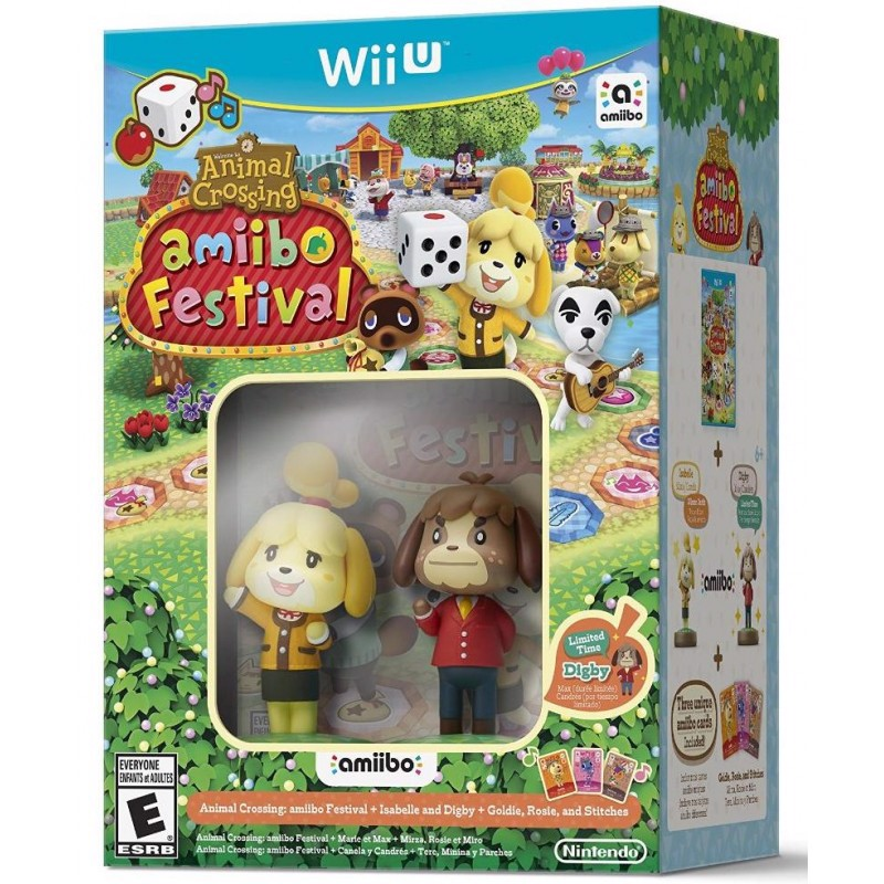 U073 - ANIMAL CROSSING: AMIIBO FESTIVAL BUNDLE