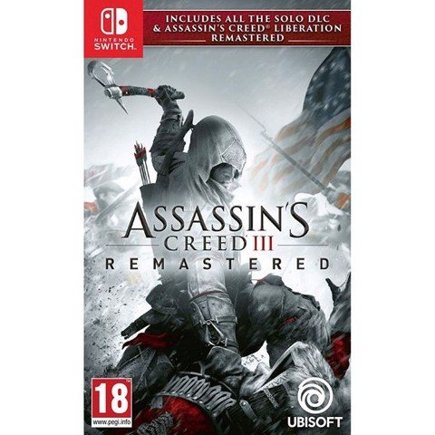 SW104 - Assassin's Creed III Remastered cho Nintendo Switch
