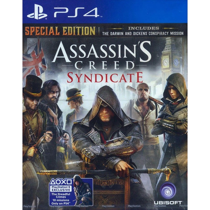 PS4099 - ASSASSIN'S CREED SYNDICATE (SPECIAL EDITION)